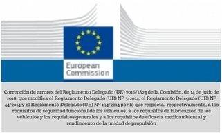 Reglamento Delegado 2016 1824