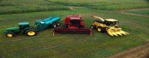 parque de maquinaria agricola
