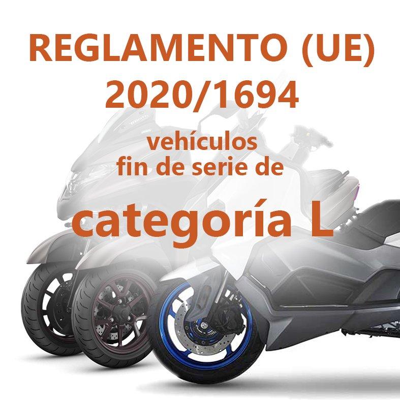Modificación del proceso para la solicitud de Fin de serie de vehículos de categoría L- (Aplica a fines de serie Euro 4)