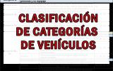 categorías de vehículos